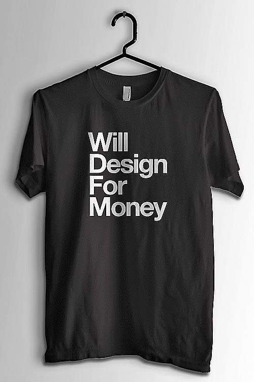 Tengo dinero, pero no para diseño